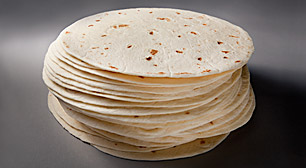"4.5"" Mini Pressed Flour Tortilla"